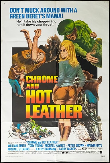 CHROME AND HOT LEATHER